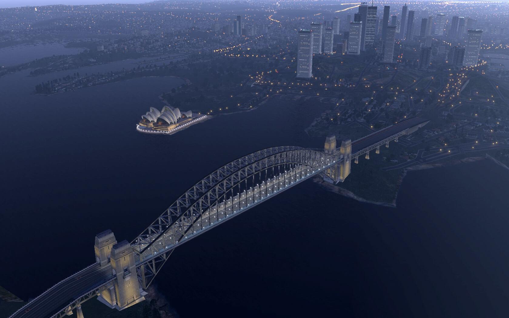 X-Plane 1120 Sydney landmarks