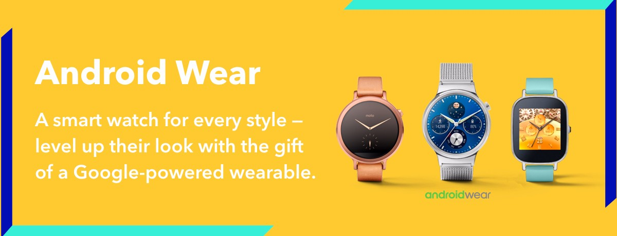 Android Wear makes a great gift