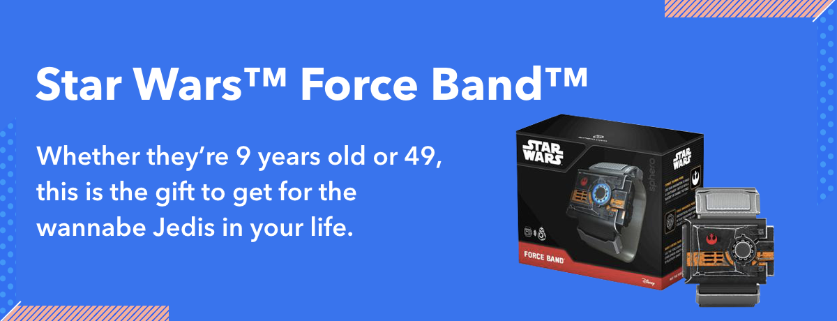 Star Wars Force Band makes a great gift