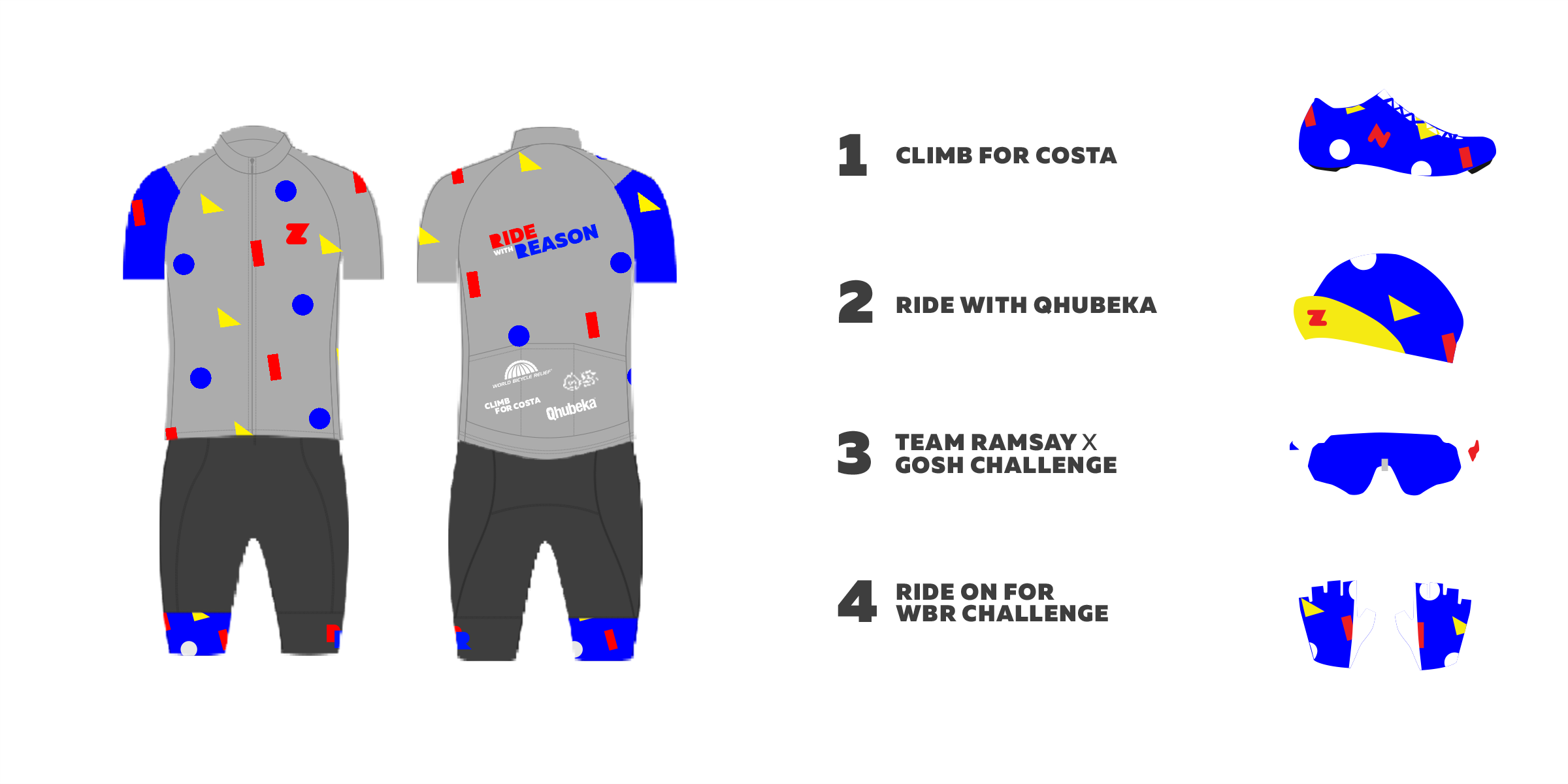 Ride With Reason Month Kit