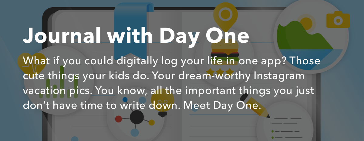 Journal daily with Day One + IFTTT