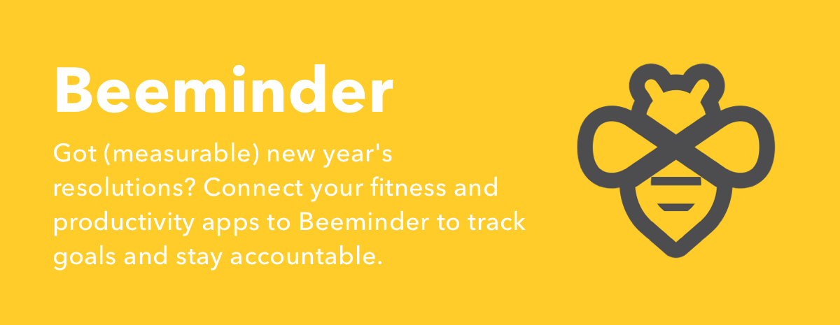 Beeminder on IFTTT