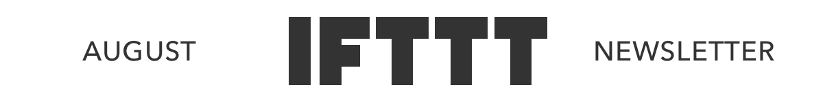 Visit IFTTT.com or the IFTTT app