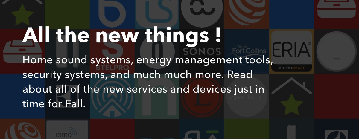 Home sound system, energy management, security, and more — new on IFTTT