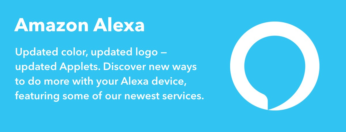 New Amazon Alexa Applets
