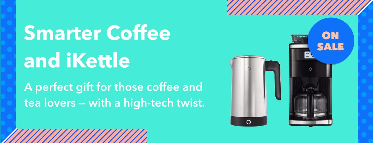 Smarter Coffee and iKettle at a discounted price