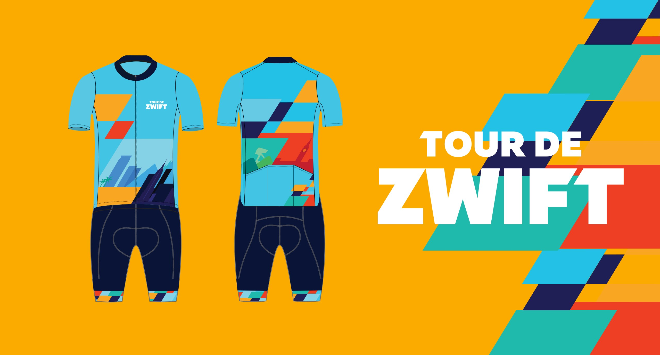 Tour de Zwift Kit