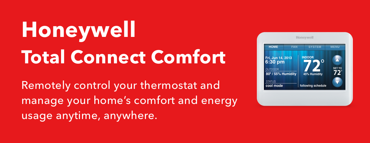 Do more with Honeywell Total Connect Comfort