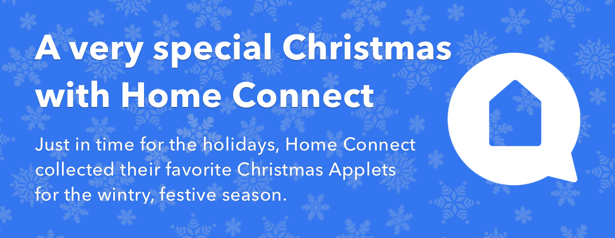 A very special Christmas with Home Connect